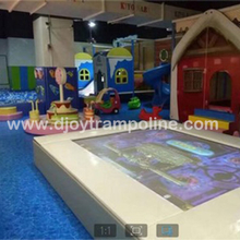 DJIP10 Newest trampoline interactive projection game